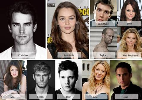 cast fifty shades of grey darker fifty shades of grey cast blushing 50 shades