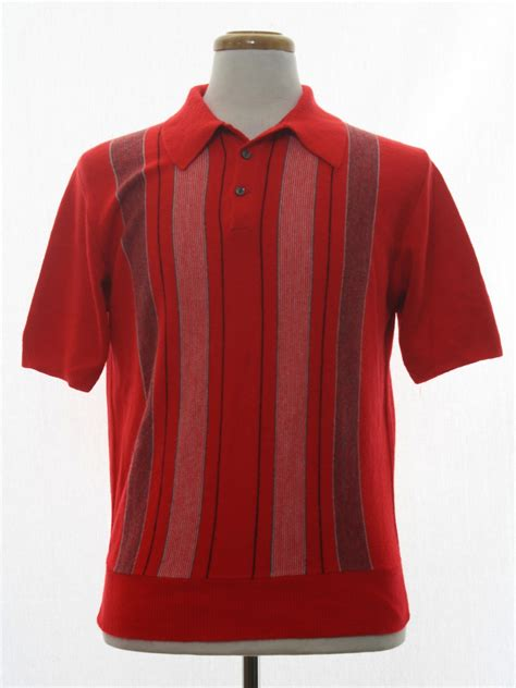 2pcs Collar Shirt Grey 13079 50s Retro Knit Shirt Late 50s No Label Mens