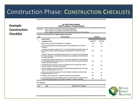 sle commissioning report commissioning checklists hvac