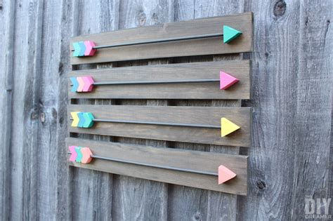 How To Decorate My Home arrow wall decor diy wood arrows wall art