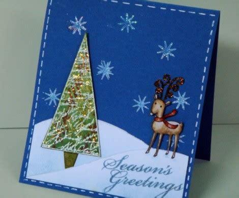 weihnachtskarten basteln ein persoenliches geschenk fuer