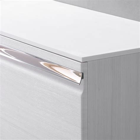 White Solid Surface Worktop Roper Pursuit 1200mm Wall Mounted Unit