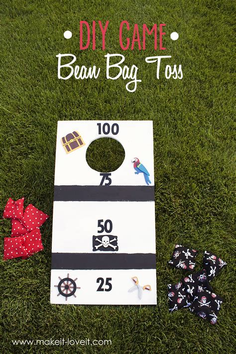 diy bean bag toss diy bean bag toss for the whole family make it