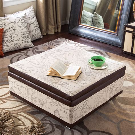 ottoman as coffee table ottoman as coffee table will be the decision for