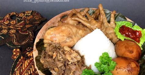 resep gudeg ayam telor oleh trixie gayatri cookpad