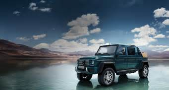 The Newest Mercedes The New Mercedes Maybach G 650 Landaulet