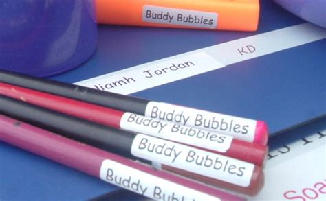 free printable pencil labels for your kids kids pencil labels iron on labels and stick on labels for