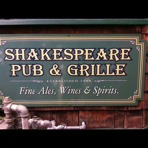 shakespeare pub at mission near san diego