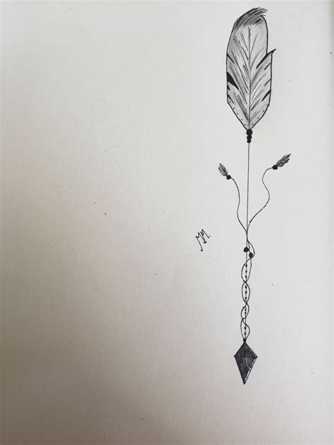 arrow feather tattoo idea for the future pinterest