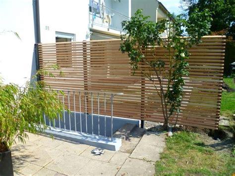 abtrennung terrasse gute ideen terrassen abtrennung und tolle sichtschutz um