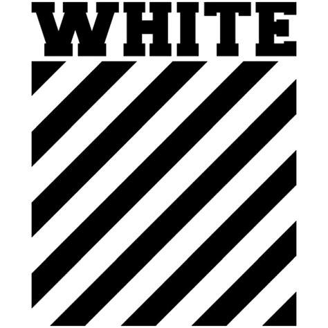 logo black and white stripes quot white logo stripes quot framed prints by lil esketit redbubble