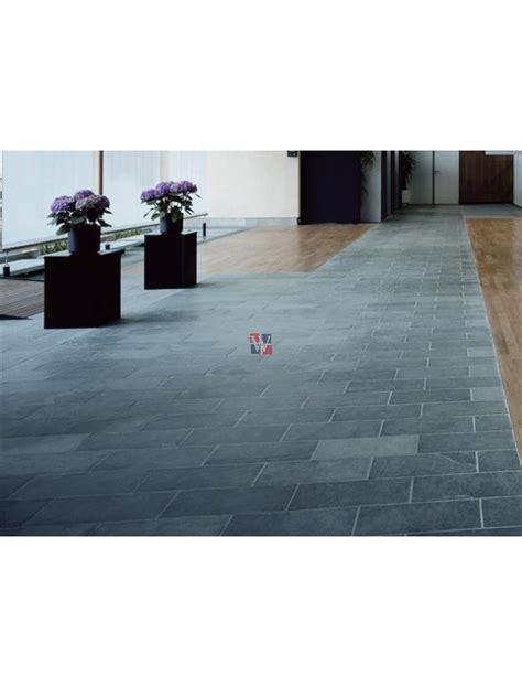 Buy Montauk Blue 12x24 Gauged Slate   Slate Floor