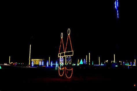 meadow event park lights photos illuminate light santa s at the