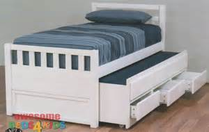 Toddler Bed Rails Perth Cruise Captains Bed White Single King Single Kid