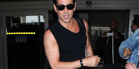 fantastic beasts colin farrell has had his tattoos removed