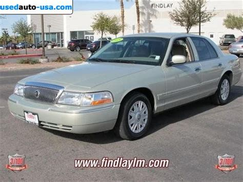 car owners manuals for sale 2005 mercury grand marquis lane departure warning for sale 2005 passenger car mercury grand marquis marquis