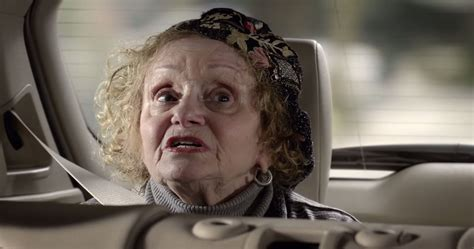 scotiabank commercial grandma actress who is the actress playing the awkward grandma in bmw s x5