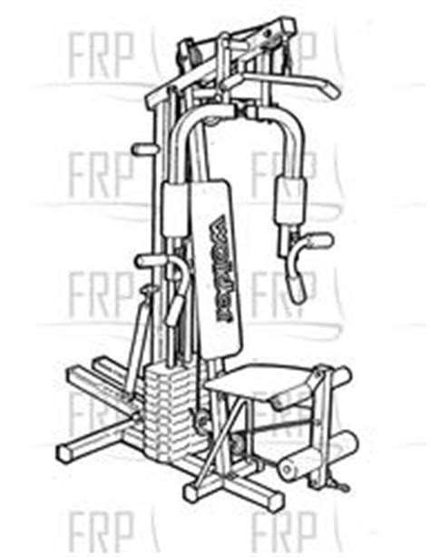 weider cross trainer master e80010 fitness and