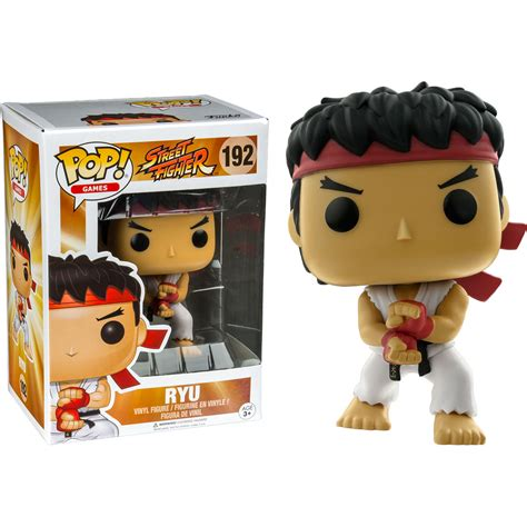 Funko Pop Ryu Fighter funko fighter ryu special attack pop vinyl figure at hobby warehouse