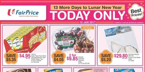 ntuc new year promotion ntuc fairprice singapore 13 more days to lunar new year