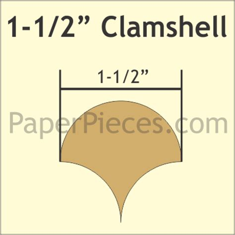 clamshell card template 1 1 2 clamshell acrylic fabric cutting template sew