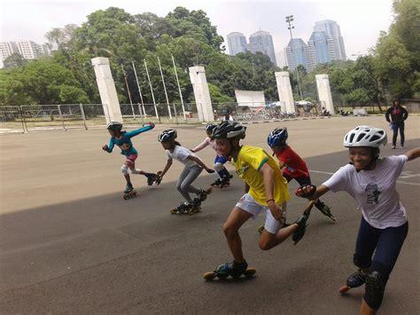 Sepatu Roda Di Itc Depok sepatu roda kota depok adakan latihan bersama dengan