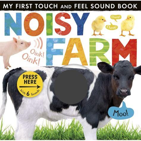My Noisy Words Tiny Tots Sound Board Book Buku Impor Anak tiger press noisy farm