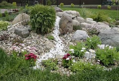 Rock Backyard Landscaping Ideas Rock Garden Design Tips 15 Rocks Garden Landscape Ideas