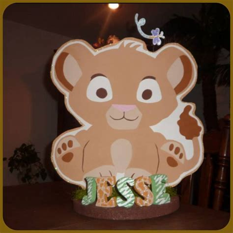 123 Best Images About Lion King Baby Shower On Pinterest King Baby Shower Centerpieces