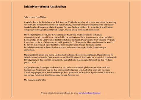 Anschreiben Initiativbewerbung Ohne Berufserfahrung Initiativbewerbung Schreiben Lebenslauf