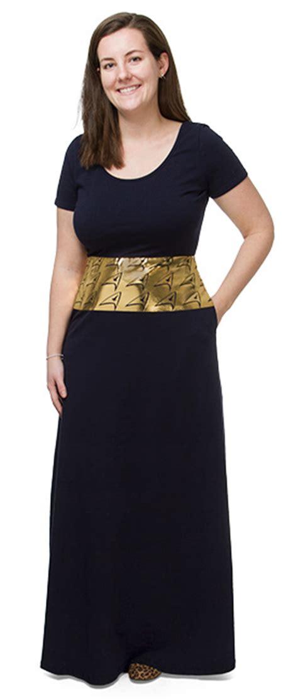 Gamis Maxi Dress Syari Delvita Trek Delta Shield Maxi Dress