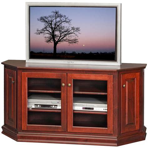 corner cabinet tv stand hutch amish corner tv media stand leighton tv cabinet