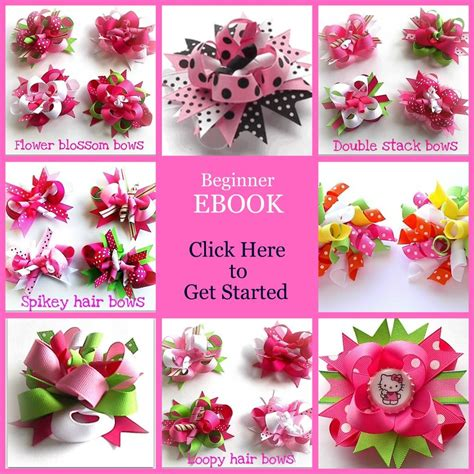 free hair bows instructions super bowl cheerleader hair bow instructions hair bow