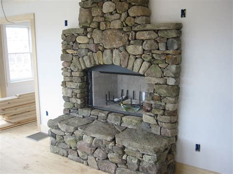 Rocks For Fireplace by Fireplace Pictures Manufactured And Fieldstone