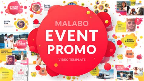 Malabo Event Promo Commercials After Effects Templates F5 Design Com Event Promo Template Free