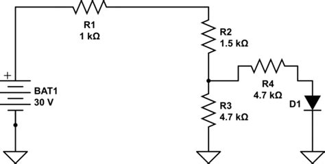 diode in parallel with current source parallel how do i calculate voltage using the complete diode method electrical engineering