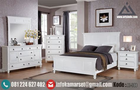 Jual Perlengkapan Kamar Tidur Minimalis by Jual Set Tempat Tidur Minimalis Putih Klasik Modern Set