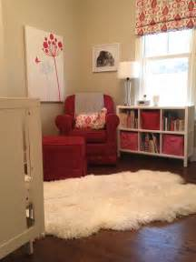 nursery sheepskin rug from costco twoinspiredesign