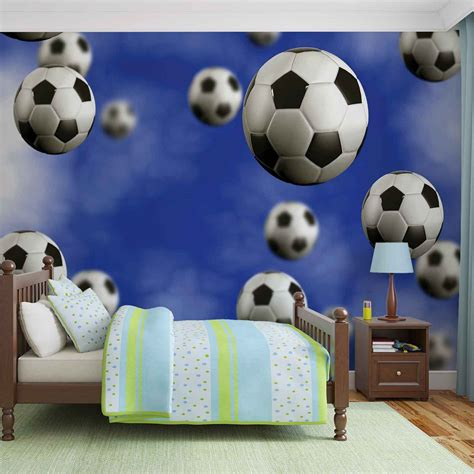 soccer murals for bedrooms football soccer wall paper mural buy at europosters