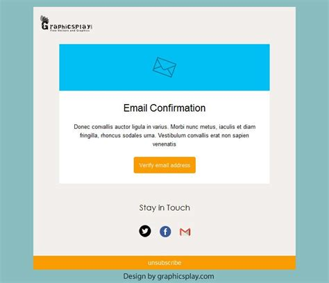 html email templates free html email newsletter template id 3043 graphicsplay