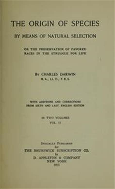 on the origin of species by means of selection or the preservation of favored races in the struggle for classic reprint books the origin of species by means of selection 1915