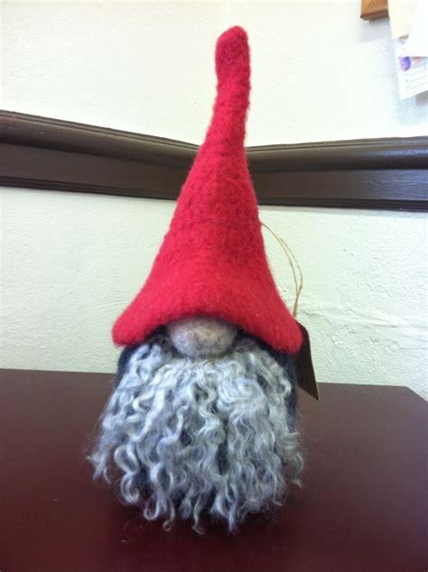 felt gnome pattern felting 171 plymouth yarn blog