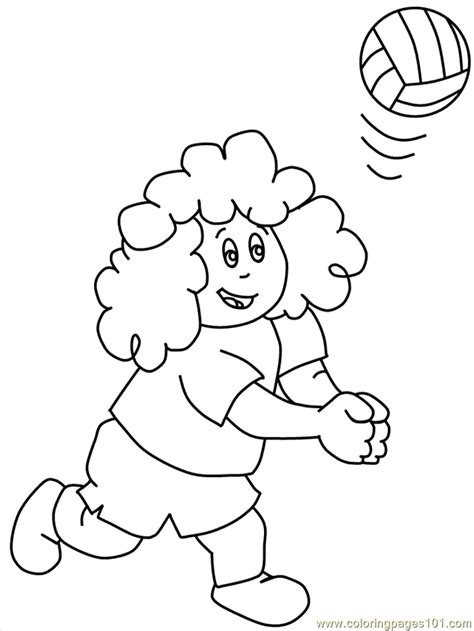 printable volleyball bookmarks coloring pages volleyball6 sports gt volleyball free