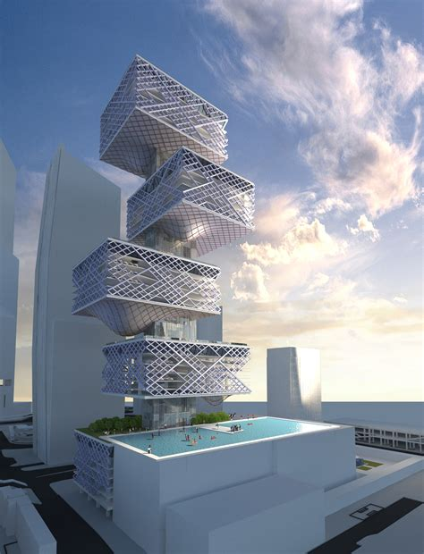 Architectural L by Gallery Of Hong Kong Alternative Car Park Tower Chris Y