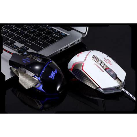 Rajfoo Gaming Mouse Laser Model 2 Black rajfoo gaming mouse laser model 5 black jakartanotebook