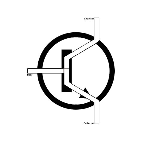 bc548 transistor symbol logic gates with npn transistors