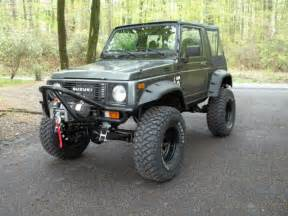 Suzuki Samurai Modified Js3jc51c1h4142316 1987 Suzuki Samurai Fresh Build