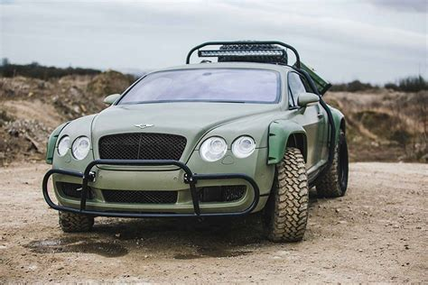 bentley suv 2018 jacked up 2018 bentley continental gt 4x4 rendered as suv
