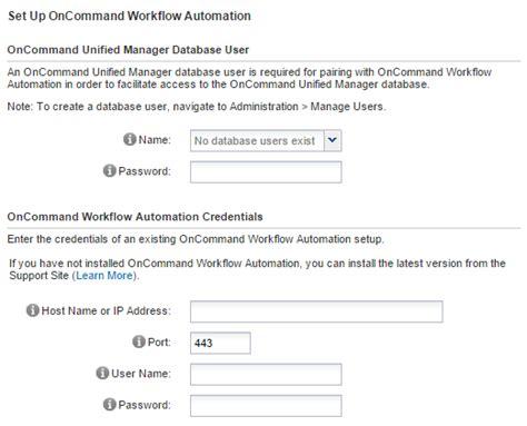 oncommand workflow automation cosonok s it ocum 6 3 appliance