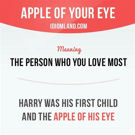 apple of my eye quotes 876 best english idioms images on pinterest english